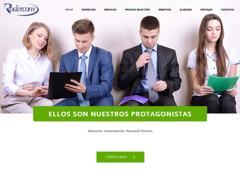 Diseño Web Corporativo Rodercom