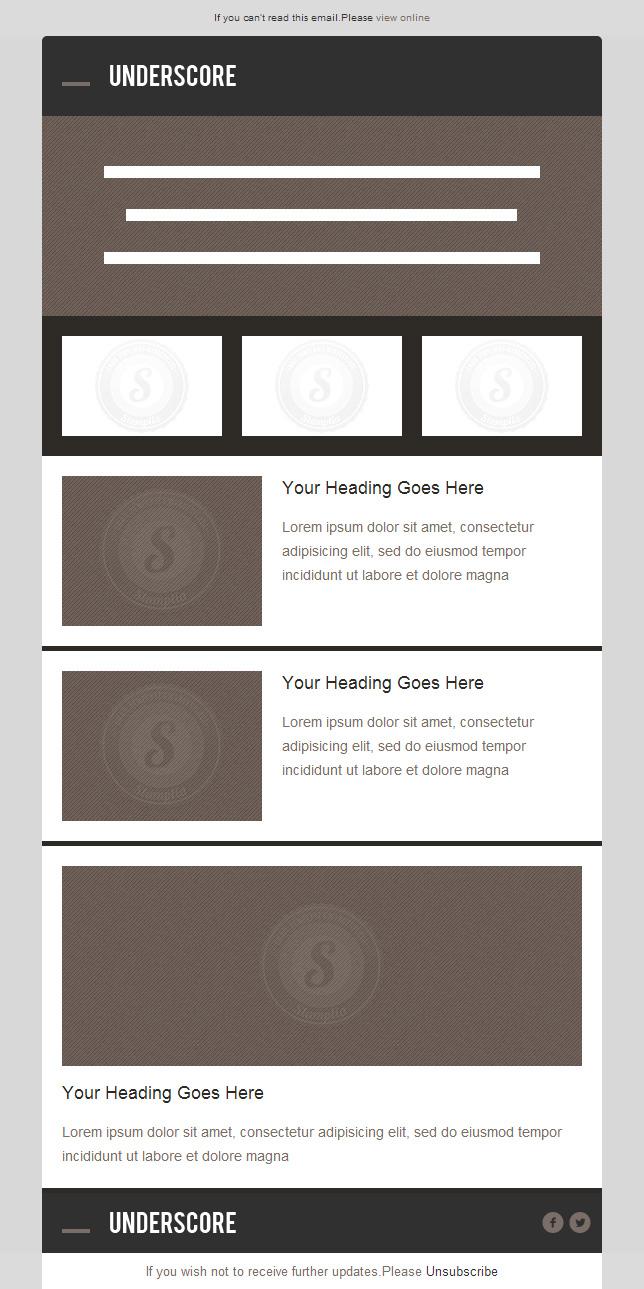 Plantillas Email Responsive Gratis | Diseñadora Web Freelance ...