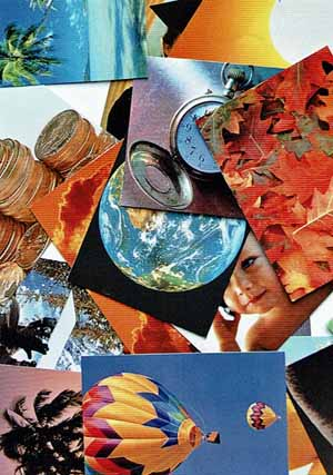 Las imágenes o los objetos aleatorios también pueden usarse para estimular las ideas.