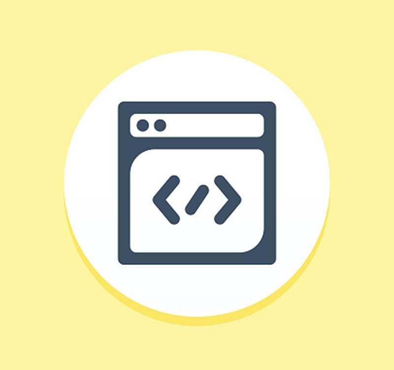 Icono de los elementos de una web