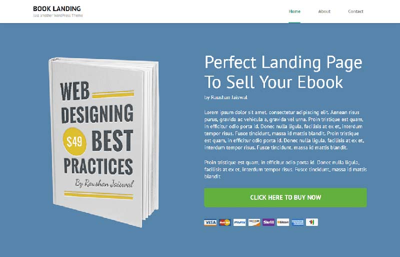 6 plantillas WordPress Gratis para Landing Pages | Diseñadora Web ...