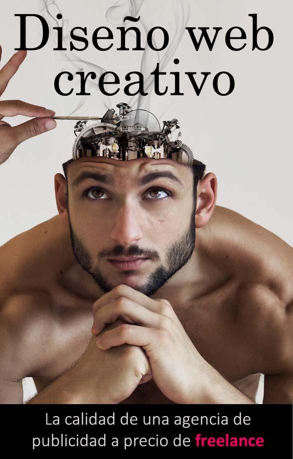 Imagen creativa de una máquina dentro de una cabeza humana